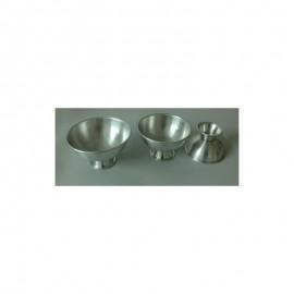 Formas Alumínio Bolo Meias Esferas Nº 12
