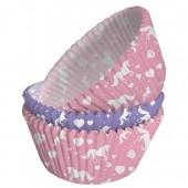 Forminhas Cupcake Unicórnio 75 Und