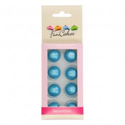 FunCakes 8 Bolas de Chocolate Azuis