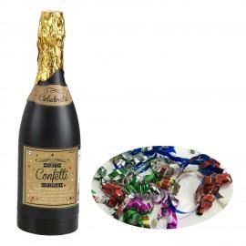 Garrafa Champanhe Lança Confettis