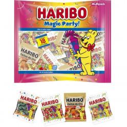 Gomas Haribo Magic Party 18 x 25gr