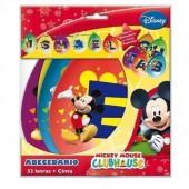 Grinalda Alfabeto Mickey Mouse