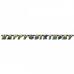 Grinalda Banner Happy Birthday Batman