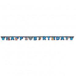 Grinalda Happy Birthday Patrulha Pata 2.4m