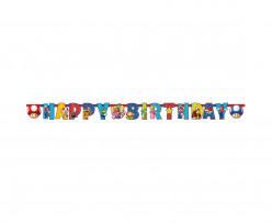 Grinalda Super Mario Happy Birthday