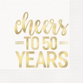 Guardanapos Cheers 50 anos – 16 Und