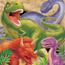 Guardanapos Dino Blast 16 unid