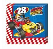 Guardanapos Mickey Super Pilotos - 20 Und