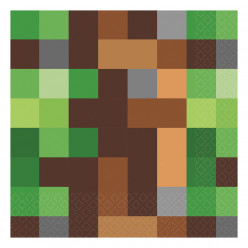 Guardanapos Minecraft - 16 Und