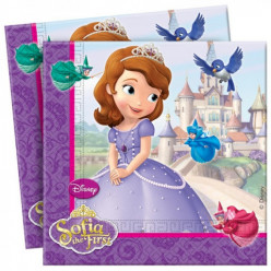 Guardanapos Princesa Sofia 20 unid