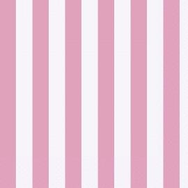 Guardanapos Riscas Rosa e Branco – 16 Und