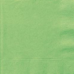 Guardanapos Verde Lima - 20 und