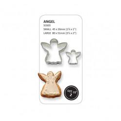 Kit 2 Cortadores de bolo Anjo PME