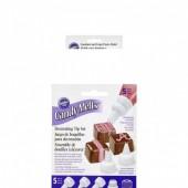 Kit Boquilhas Decoração Chocolate Wilton