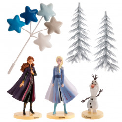 Kit Decoração Bolo Frozen 2