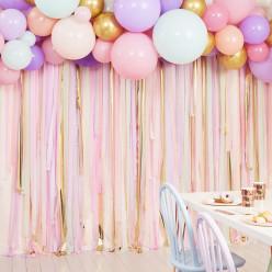 Kit Decoração Festa Balões Tons Pastel