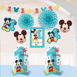 Kit Decoração Mickey 1ºAniversário