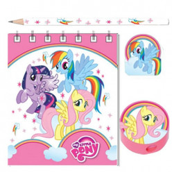 Kit Papelaria My Little Pony 20 pçs