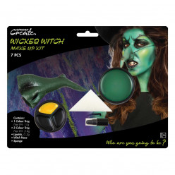 Kit Pintura Bruxa Halloween