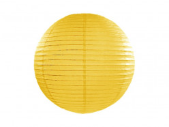 Lanterna  Papel Amarela 45cm