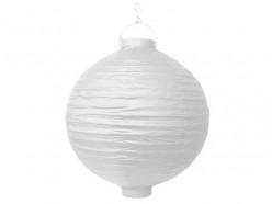 Lanterna Papel Branca 30cm