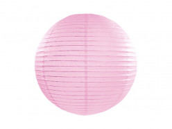 Lanterna Papel Rosa Bebé 45cm