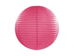 Lanterna Papel Rosa Fúscia 20cm