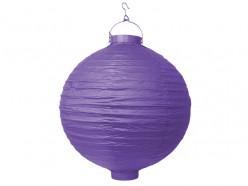 Lanterna Papel Violeta 30cm