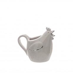 Leiteira/jarrinha em Cerâmica Galinha