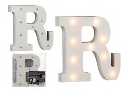 Letra R Luminosa c/ Leds