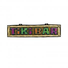 Letreiro Tiki Bar 111x26x4cm