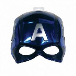 Máscara Capitão América Metalizada