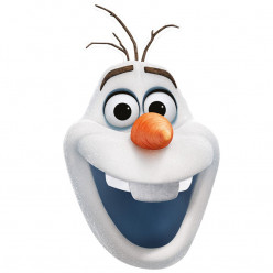 Máscara Olaf Frozen 2