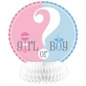Mini Centros Mesa Baby Shower Boy or Girl? - 4 Und