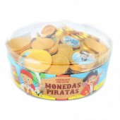 Moedas Chocolate Piratas