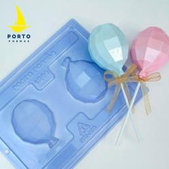 Molde Acetato 3 Partes Balão Latex 3D