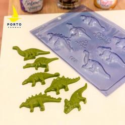 Molde Acetato Dinossauros