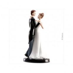 Noivos Românticos 16cm