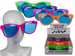 Oculos gigantes de Carnaval