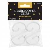 Pack 4 clips toalha de mesa