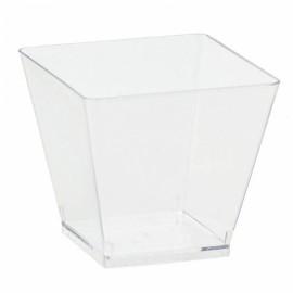 Pack 40 Mini copos de plástico 59ml