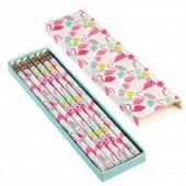 Pack 6 lápis Baía do Flamingo
