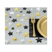 Pack com estrelas decoração de mesas - Hollywood