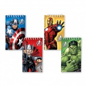 Pack de 12 Blocos para festa  Avengers
