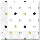Pack Guardanapos 33x33cm Star Milestone