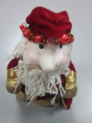 Pai Natal 23cm decorativo