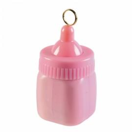 Peso balões Bebé Garrafa Rosa