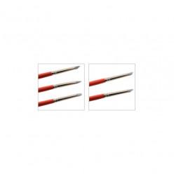 Pincéis de modelagem silicone nº2
