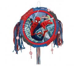 Pinhata Redonda Spiderman