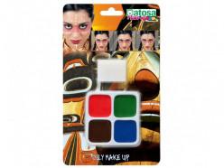 Pintura facial Carnaval 4 Cores